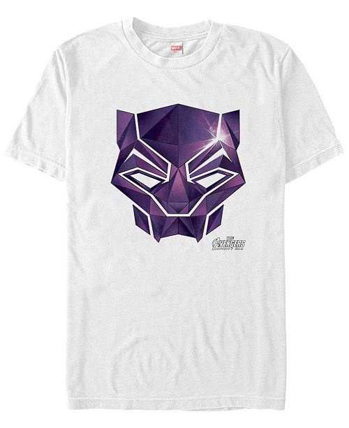 Marvel Men's Avengers Infinity War Diamond Panther Short Sleeve T-Shirt
