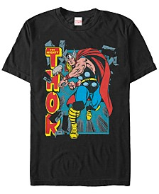 Marvel Men's Comic Collection The Mighty Thor Short Sleeve T-Shirt