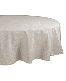 "Solid Chambray Tablecloth 70"" Round"