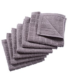 Solid Windowpane Terry Dishcloth, Set of 6