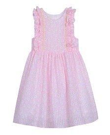 Laura Ashley London Baby Girl's Sleeveless Cotton Print Dress