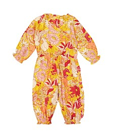 Masala Baby Girl Ellie One Piece Swan Lake