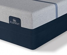 i-Comfort by Serta BLUE Max 1000 12.5'' Cushion Firm Mattress Set- Twin XL