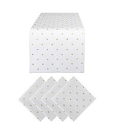 Polka Dot Table Set of 5
