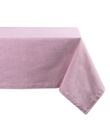 "Design Imports Table Cloth Solid Chambray 60"" x 84"""
