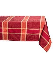 "Harvest Wheat Jacquard Table Cloth 52"" x 52"""