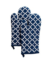 Lattice Oven Mitt Set of 2