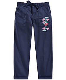 Big Girls Embroidered Pants