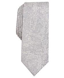 I.N.C. Men's Skinny Animal-Pattern Tie, Created for Macy's