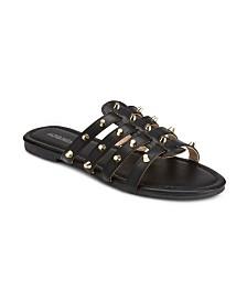 Olivia Miller Livin My Best Life Studded Sandals