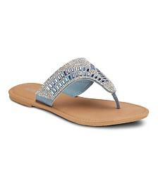 Olivia Miller M2M Embellished Sandals