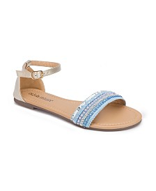 Olivia Miller Boca Multi Embellished Sandals