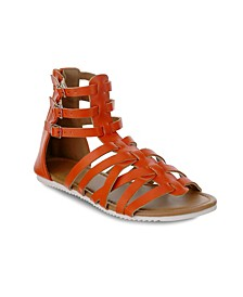 Tampa Multi Strapped Gladiator Sandals