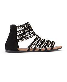Olivia Miller Brooksville Diamond Shaped Studded Sandals