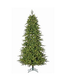 7.5Ft. Pre-Lit Shasta Pine Tree with Instant Glow Power Pole and 750 LED Lights