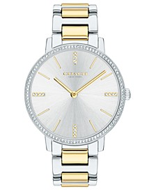 Women's Audrey Two-Tone Stainless Steel Bracelet Watch 35mm