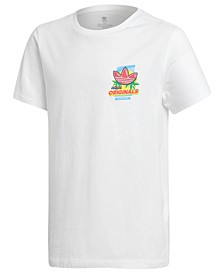 Big Boys Printed Cotton T-Shirt