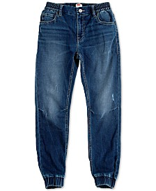 Levi's® Little Boys Slim Tapered-Fit Stretch Distressed Dobby Joggers