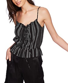 1.STATE Cinched Waist Camisole