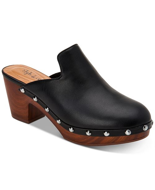 Style & Co Trystan Slip-On Clogs, Created for Macy's