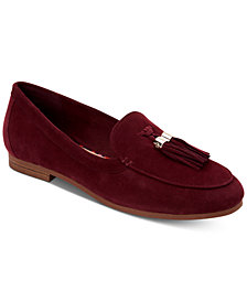 Charter Club Margott Suede Tassel Loafers, Created for Macy's