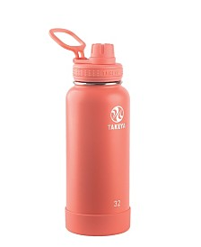 Takeya Actives 32 oz Insulated Stainless Steel Water Bottle with Spout Lid