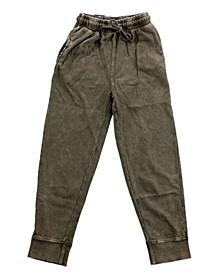 Big and Little Boy Splatter Print Jogger Pants