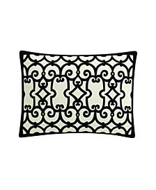 Havana Contrast Suede Decorative Pillow