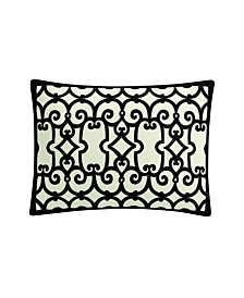 Destinations by Stavros Havana Contrast Suede Decorative Pillow