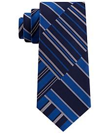 Men's Classic Abstract Stripe Tie