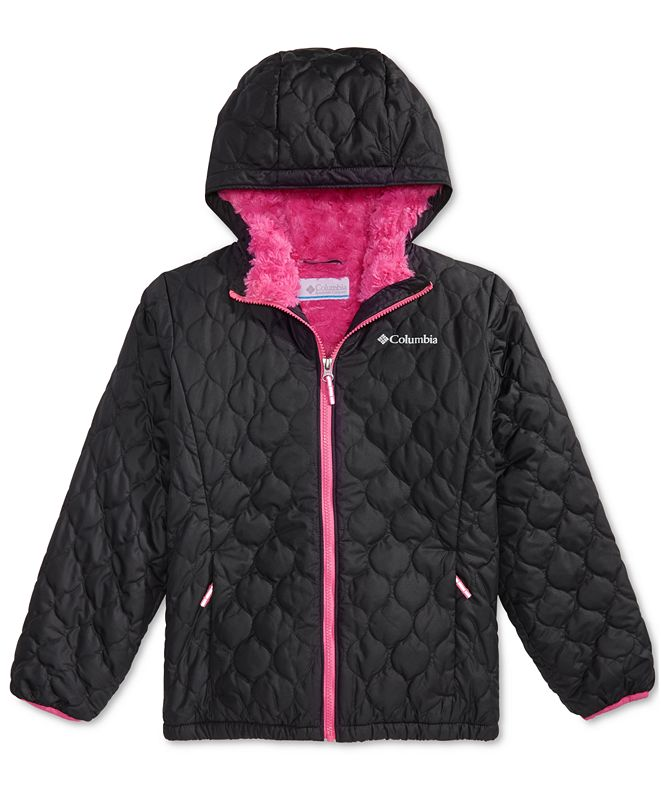 Columbia Big Girls Bella Hooded Plush-Lined Jacket
