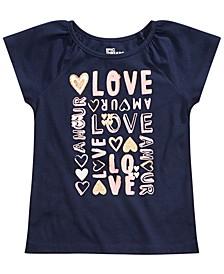 Toddler Girls Love T-Shirt, Created for Macy's