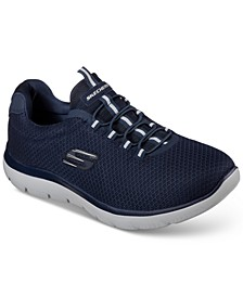 Men's Summits Slip On Training Sneakers from Finish Line