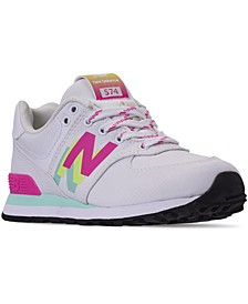 Little Girls 574 Casual Sneakers from Finish Line