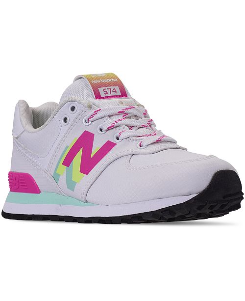 New Balance Little Girls 574 Casual Sneakers from Finish Line