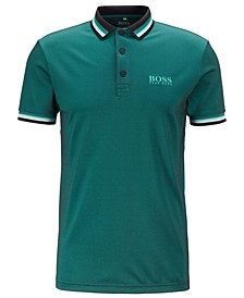 BOSS Men's Paule Pro 4 Slim-Fit Golf Polo Shirt
