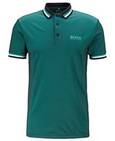 e97779cc BOSS Men's Paule Pro 4 Slim-Fit Golf Polo Shirt