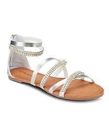Olivia Miller Imagine Embellished Sandals
