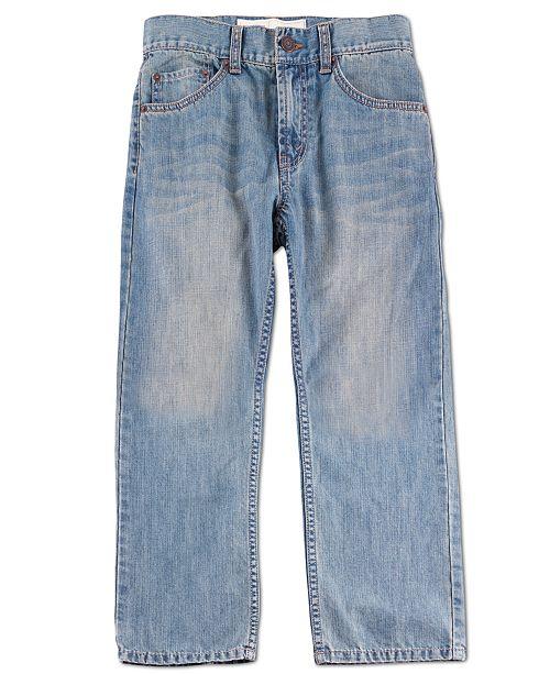 c4c4fbe0c52 Levi s Boys  Husky 505 Regular Fit Jeans   Reviews - Jeans - Kids ...