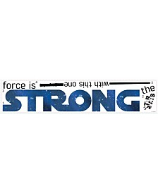 York Wallcoverings Star Wars Classic The Force Is Strong Pands Wall Decals
