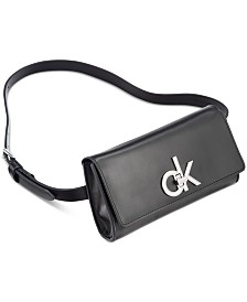Calvin Klein CK Smooth Leather Belt Bag
