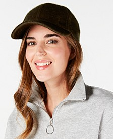 Faux-Haircalf Baseball Cap
