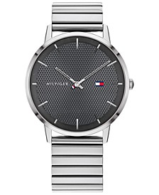 Men's Stainless Steel Bracelet Watch 40mm, Created for Macy's