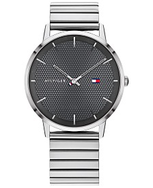 Tommy Hilfiger Men's Stainless Steel Bracelet Watch 40mm, Created For Macy's
