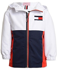 Baby Boys Colorblocked Hooded Jacket