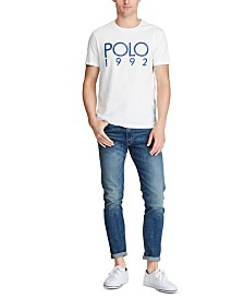 Polo Ralph Lauren Men's Custom Slim Fit Graphic T-Shirt