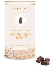 Sparkling Dark Chocolate Rosé Bears  Canister