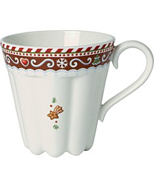 Winter Bakery Delight Large Cup, Gingerbread Design