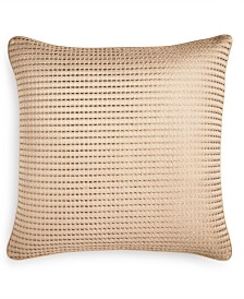 """Hotel Collection Deco Embroidery 16"""" x 16"""" Decorative Pillow"""