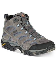 Women's Moab 2 Mid Waterproof Sneakers